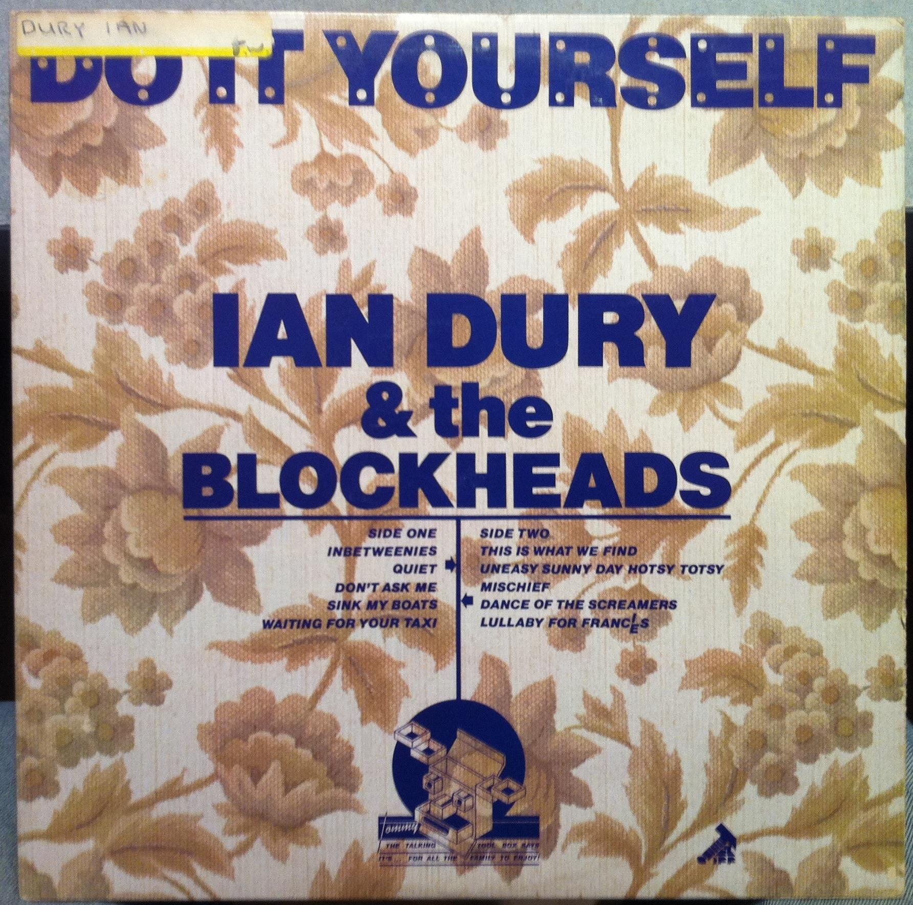 Ian dury ian dury and the blockheads records lps vinyl and cds ian dury the blockheads ian dury the blockheads do it yourself lp vg solutioingenieria Image collections