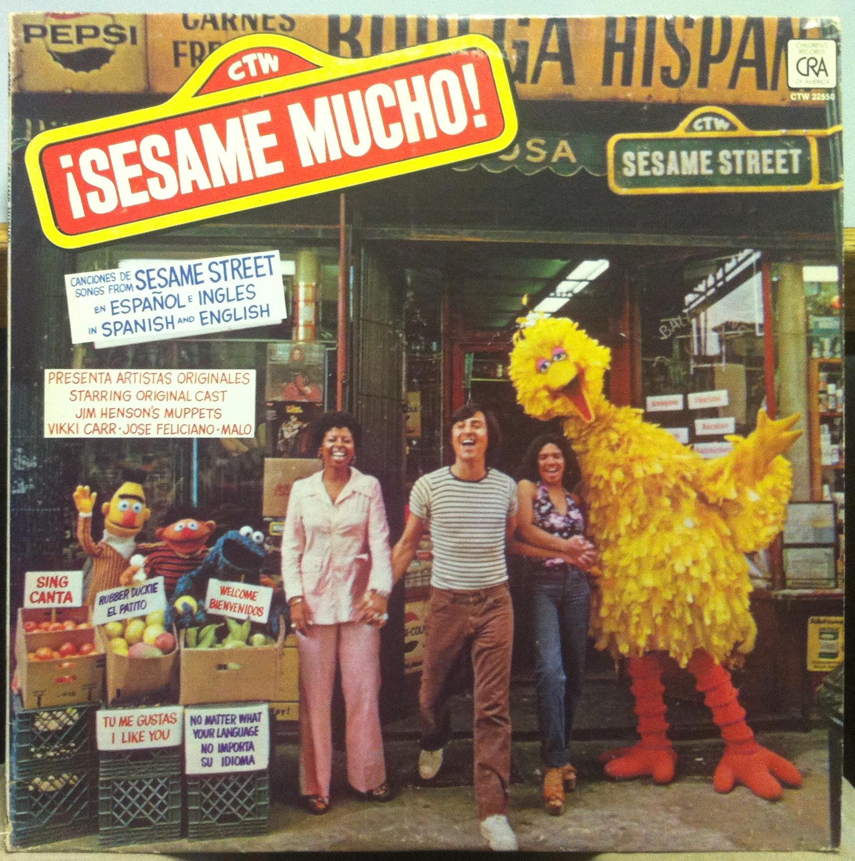SESAME STREET LATIN ALBUM - Sesame Mucho