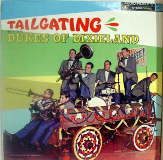 DUKES OF DIXIELAND - Dukes Of Dixieland Tailgating With The Lp Vg+ Afsd 6172 Vinyl Record (tailgating With The)