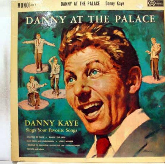 DANNY KAYE - Danny Kaye At The Palace Lp Mint- Ah 4 Vinyl Record (at The Palace)