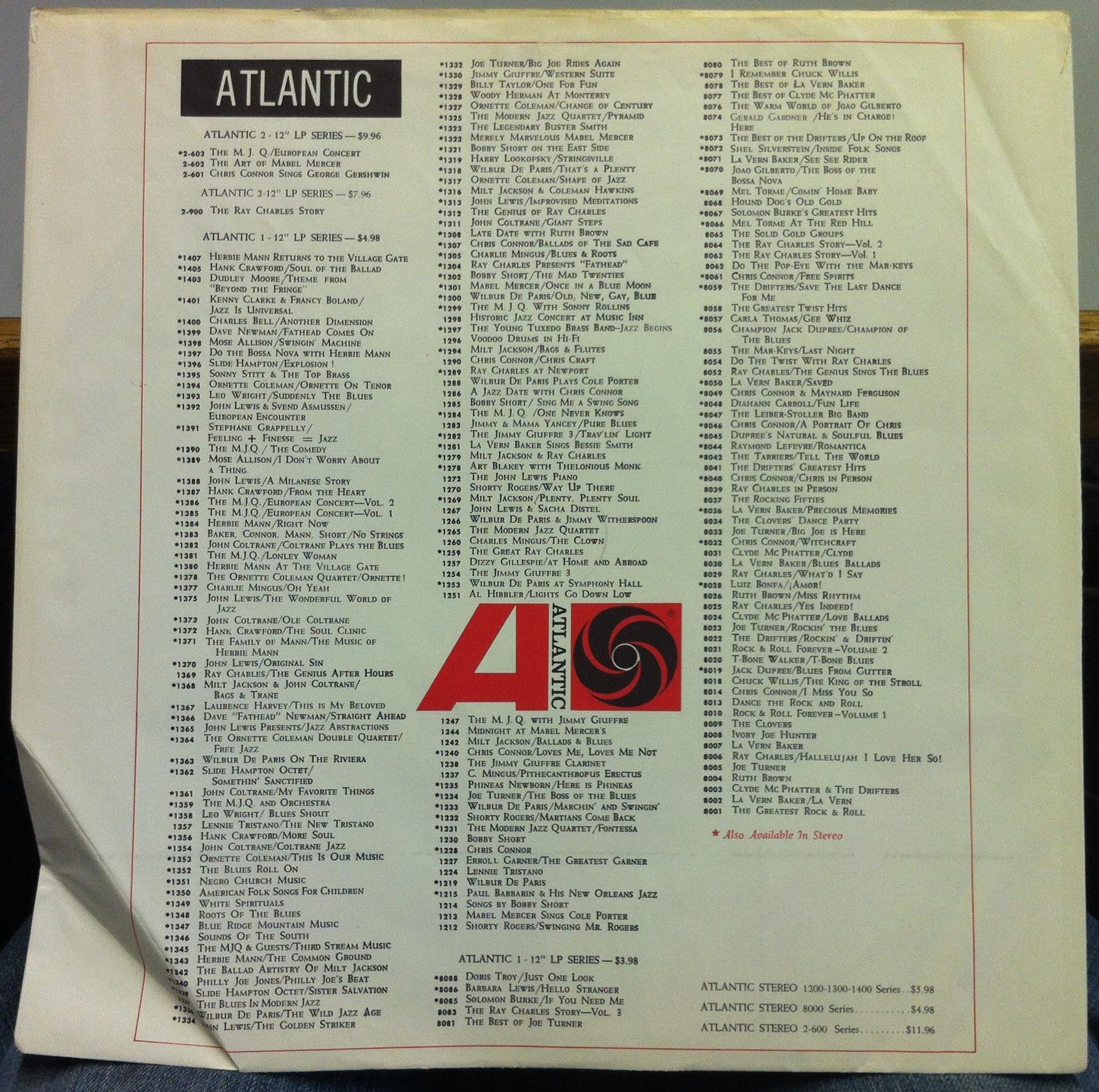 Atlantic Records Usa Black Amp White Inner Sleeve For Usa