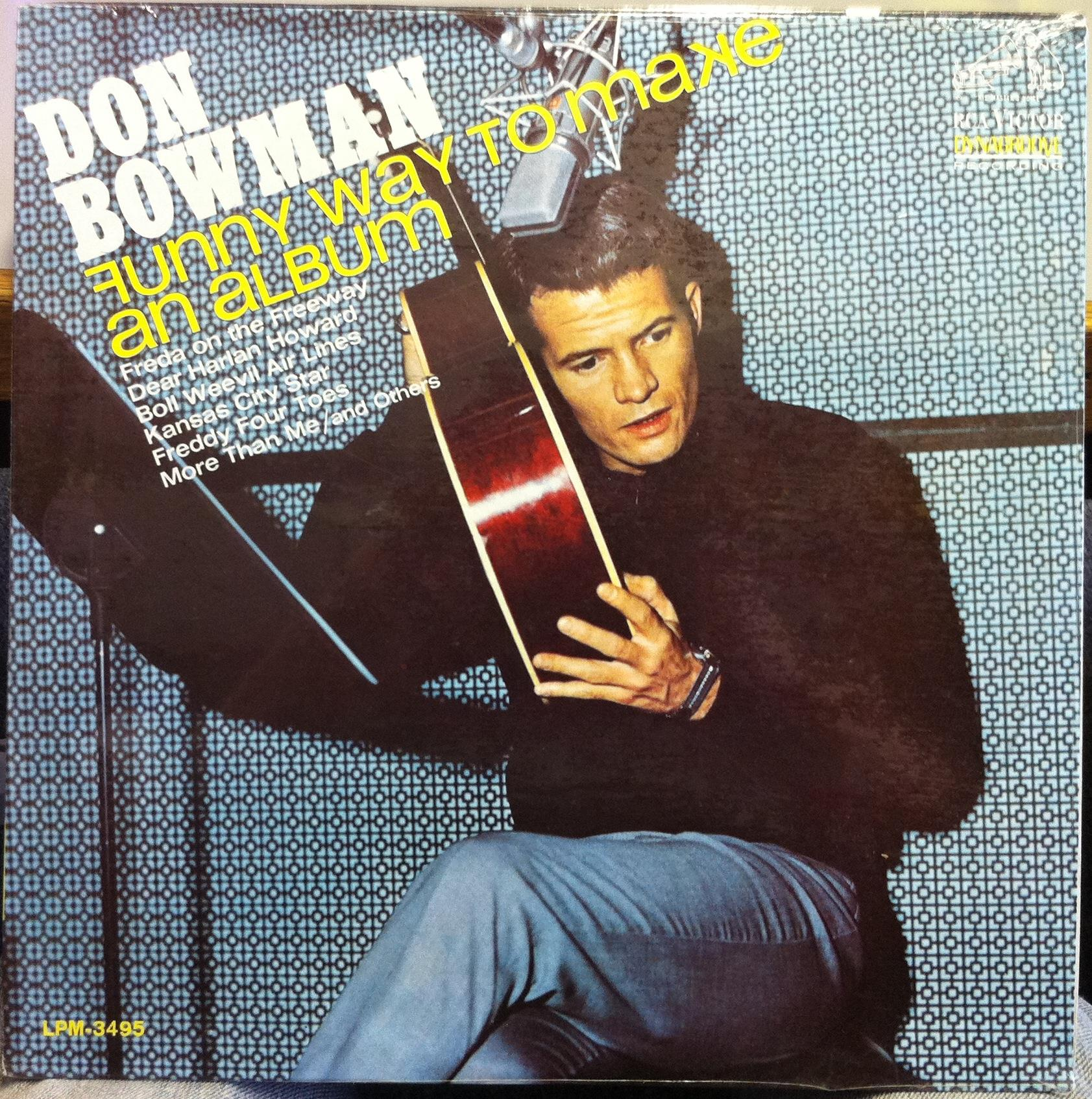 Don Bowman Funny Way To Make A Album Lp Sealed Lpm 3495 Vinyl 1966 Record