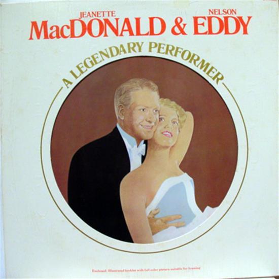 JEANETTE MACDONALD / NELSON EDDY - Jeanette Macdonald / Nelson Eddy Legendary Performers Lp Mint- Cpl1 2468 (legendary Performers)