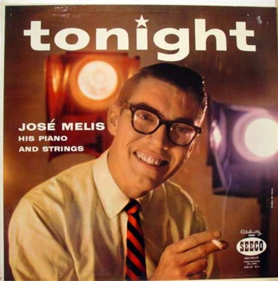 JOSE MELIS - Jose Melis Tonight Lp Vg+ Celp 411 Vinyl 1963 Record (tonight)