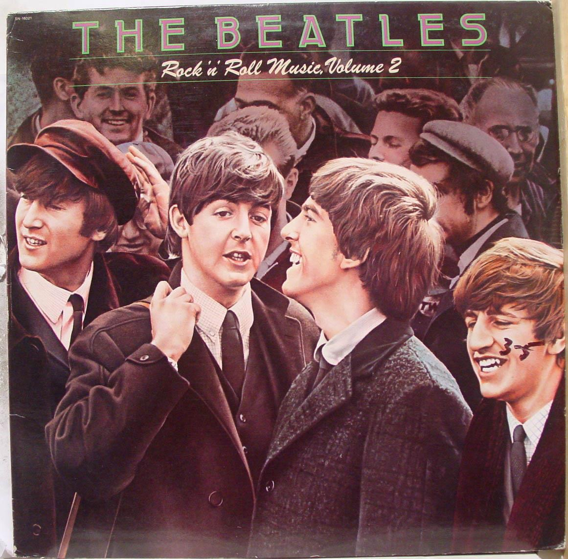 BEATLES - The Beatles Rock N Roll Music Vol 2 Lp Vg+ Sn 16021 Vinyl 1980 Record (rock N Roll Music Vol 2)