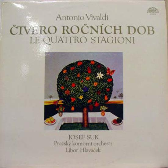 Suk Vivaldi Ctvero Rocnich Dob Lp Mint