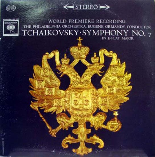 EUGENE ORMANDY - Tchaikovsky Symphony No 7