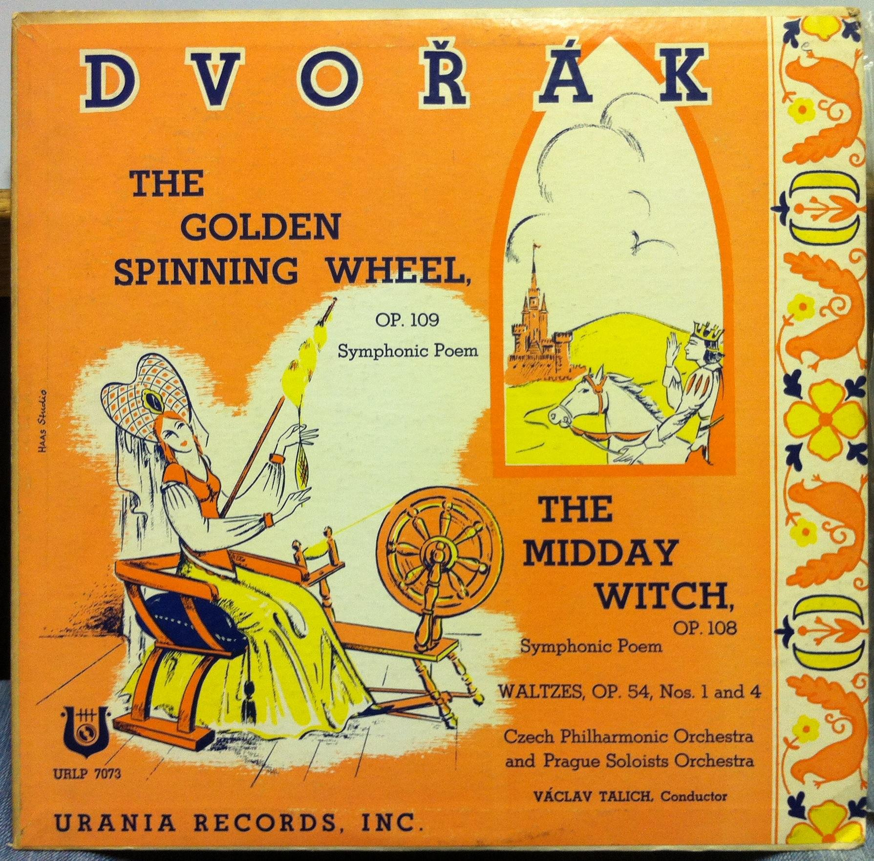 Vaclav Talich Dvorak Golden Spinning Wheel Amp Midday Witch