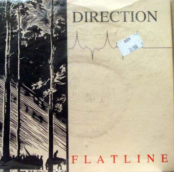 DIRECTION - Direction Flatline Ep Mint- Ballyhoo Withdrawal Bally 002 Vinyl 1995 Record (flatline)