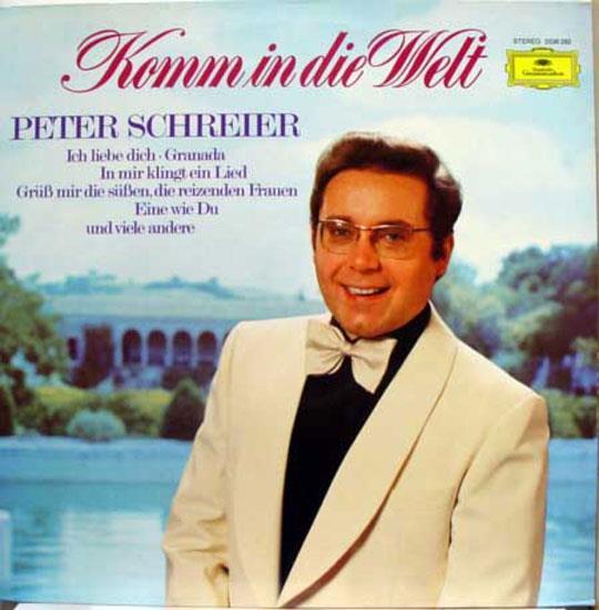 PETER SCHREIER - Peter Schreier Komm In Die Welt Lp Mint- 2536 292 Vinyl 1977 Record (komm In Die Welt)