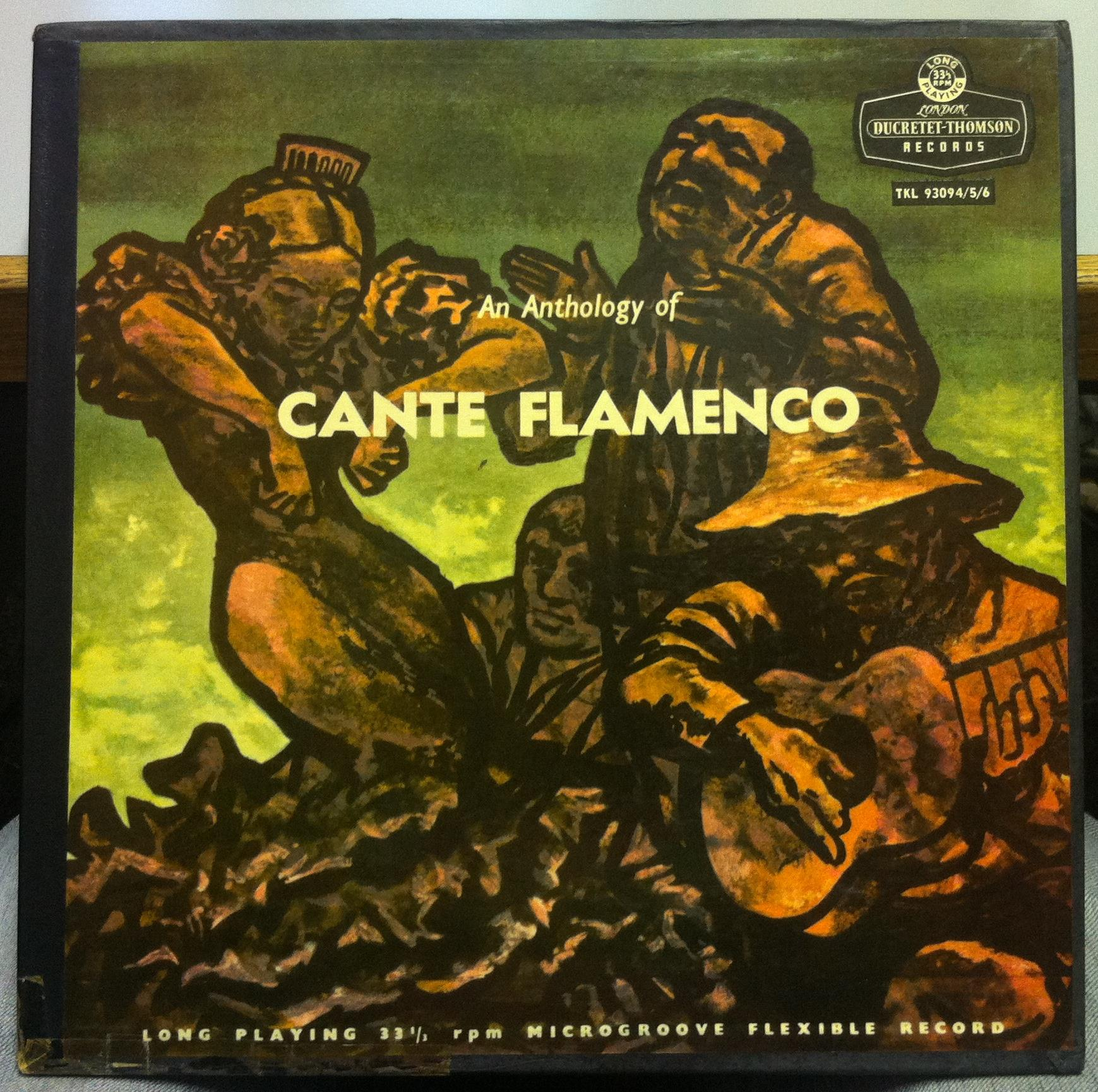 anthology of cante flamenco 3 lp mint 5  6