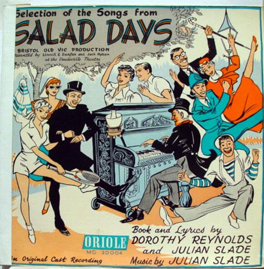 Original Cast Salad Days Lp Vg Oriole Mg 20004 Uk Mono 1st