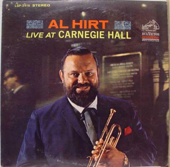 Al HIrt - Live At Carnegie Hall LP