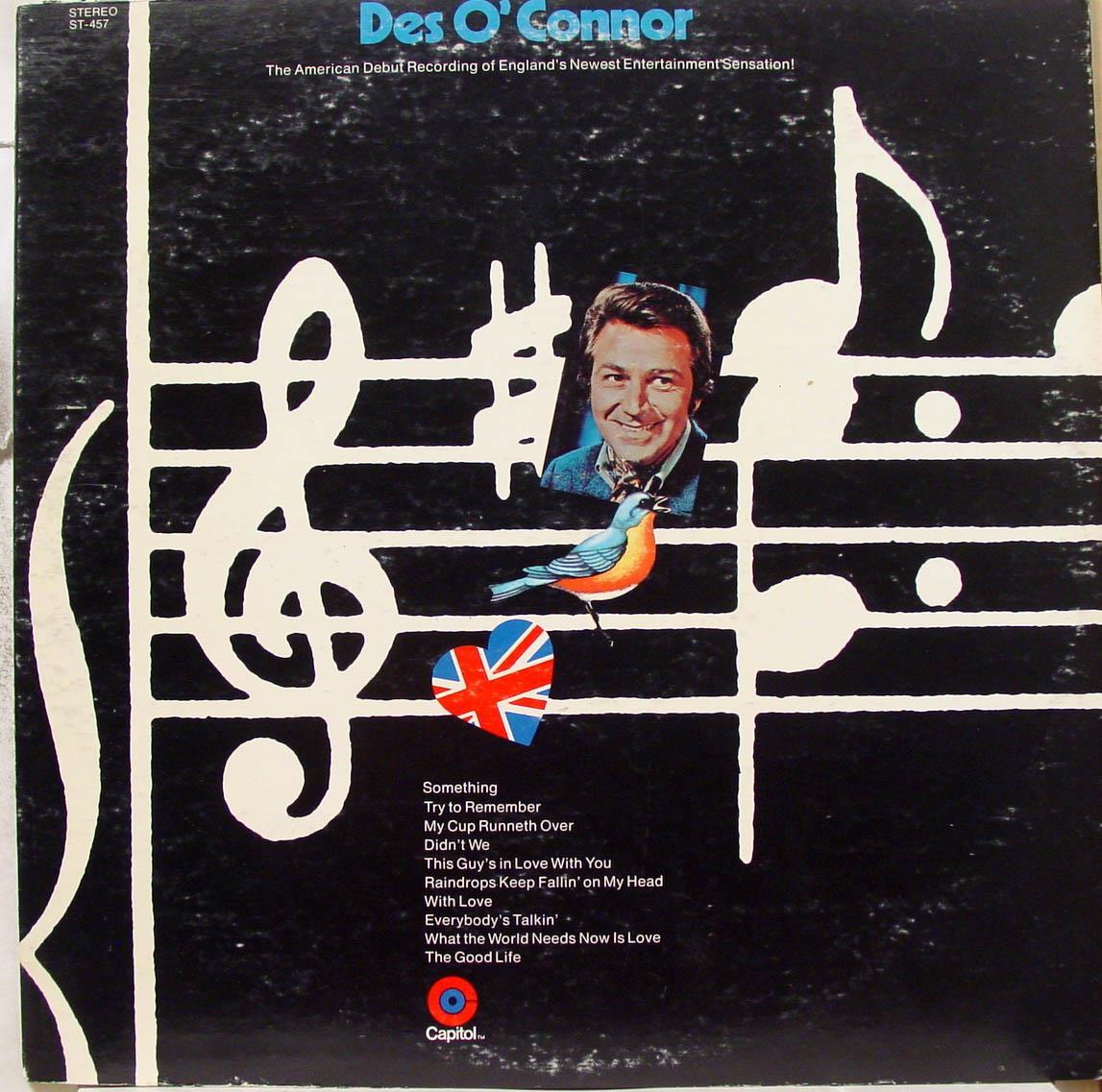 DES O CONNOR - Des O Connor S/t Debut Lp Vg+ St 457 Vinyl Record (s/t Debut)
