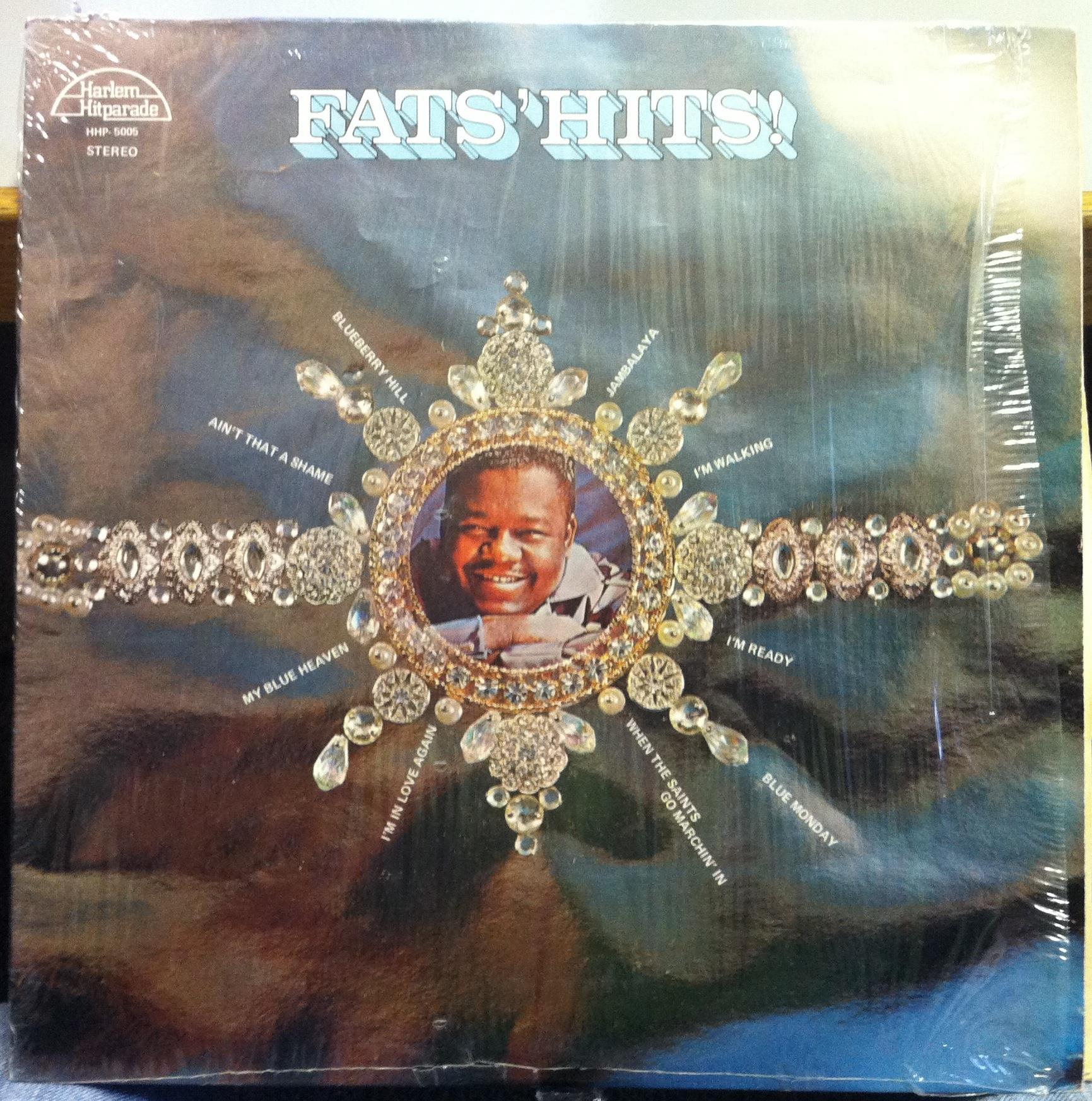 FATS DOMINO - Fats Domino Fats Hits Lp Vg+ Hhp-5005 Vinyl Stereo Harlem Record (fats Hits)