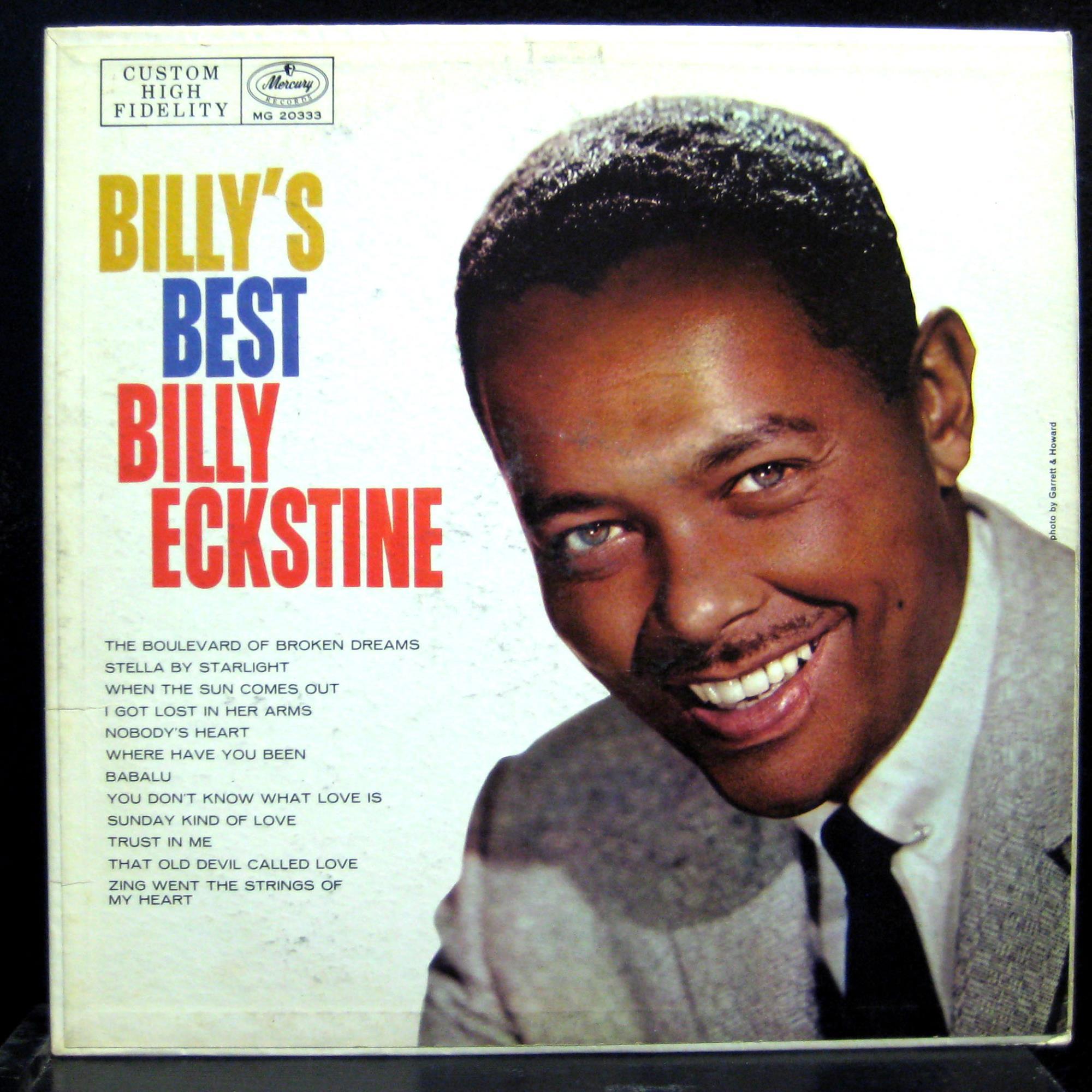 Billy Eckstine Billy S Best Lp Vg Mg 20333 Mono 1st