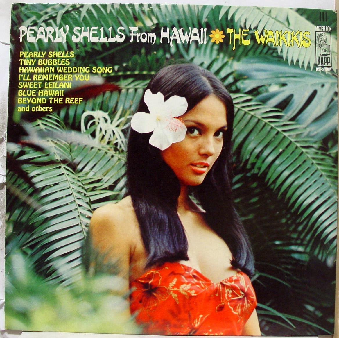 WAIKIKIS - The Waikikis Pearly Shells From Hawaii Lp Mint- Ks 3555 Stereo Usa 1968 Record (pearly Shells From H