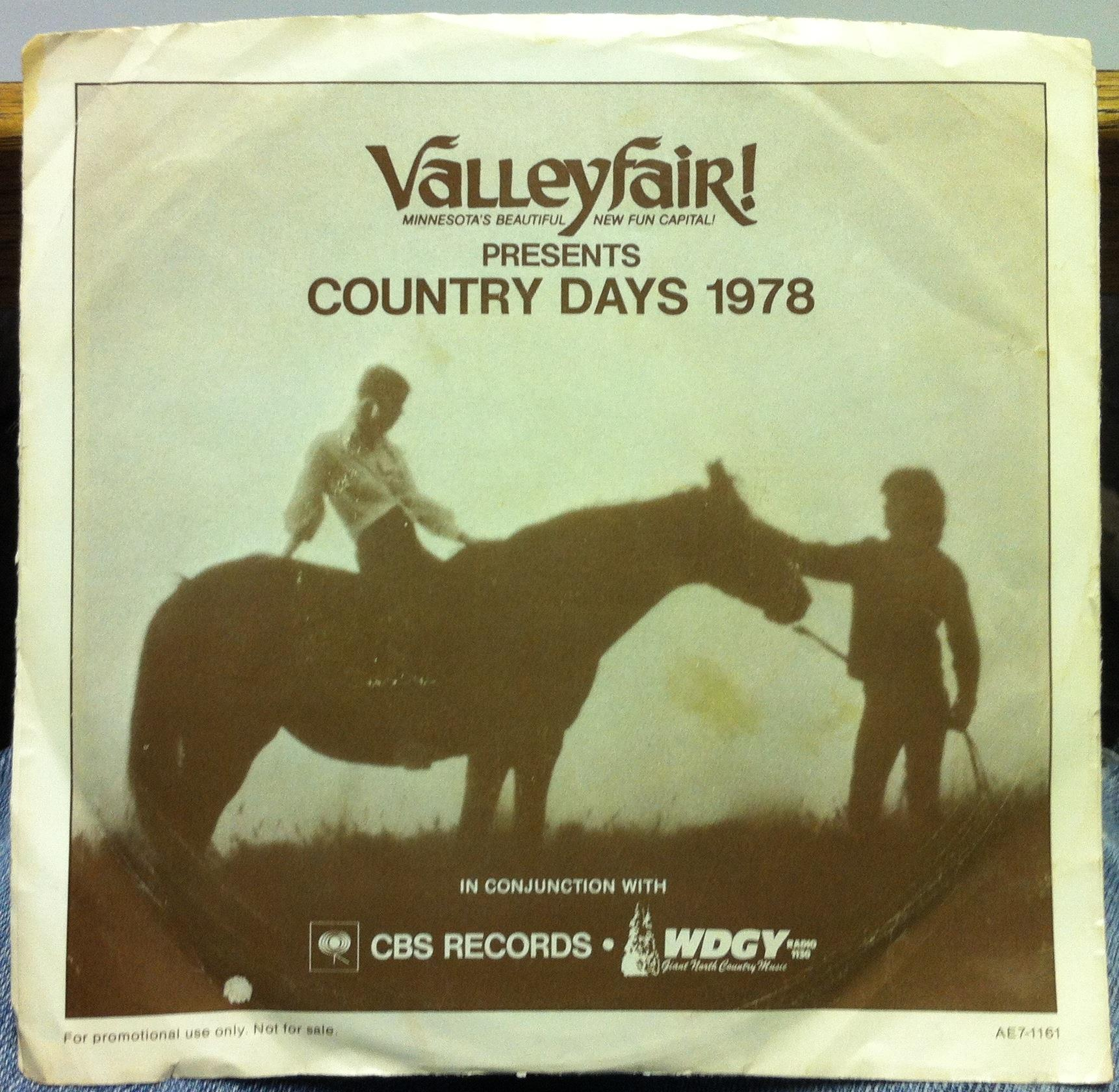 VALLEYFAIR CBS Promo Country Days 1978 EP 7quot VG AE7 1161  : 19866954 from www.ebay.com size 1722 x 1680 jpeg 396kB