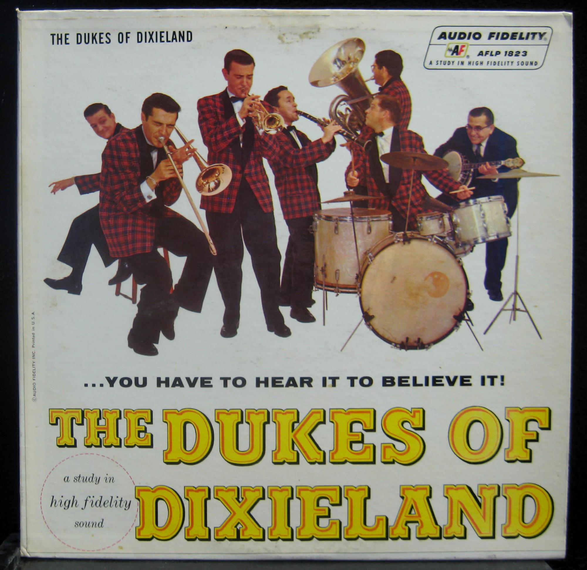Dukes Of Dixieland - The Dukes Of Dixieland You Have To Hear It To Believe It Vol 1 Lp Vg+ Aflp 1823 (you Have To Hear It