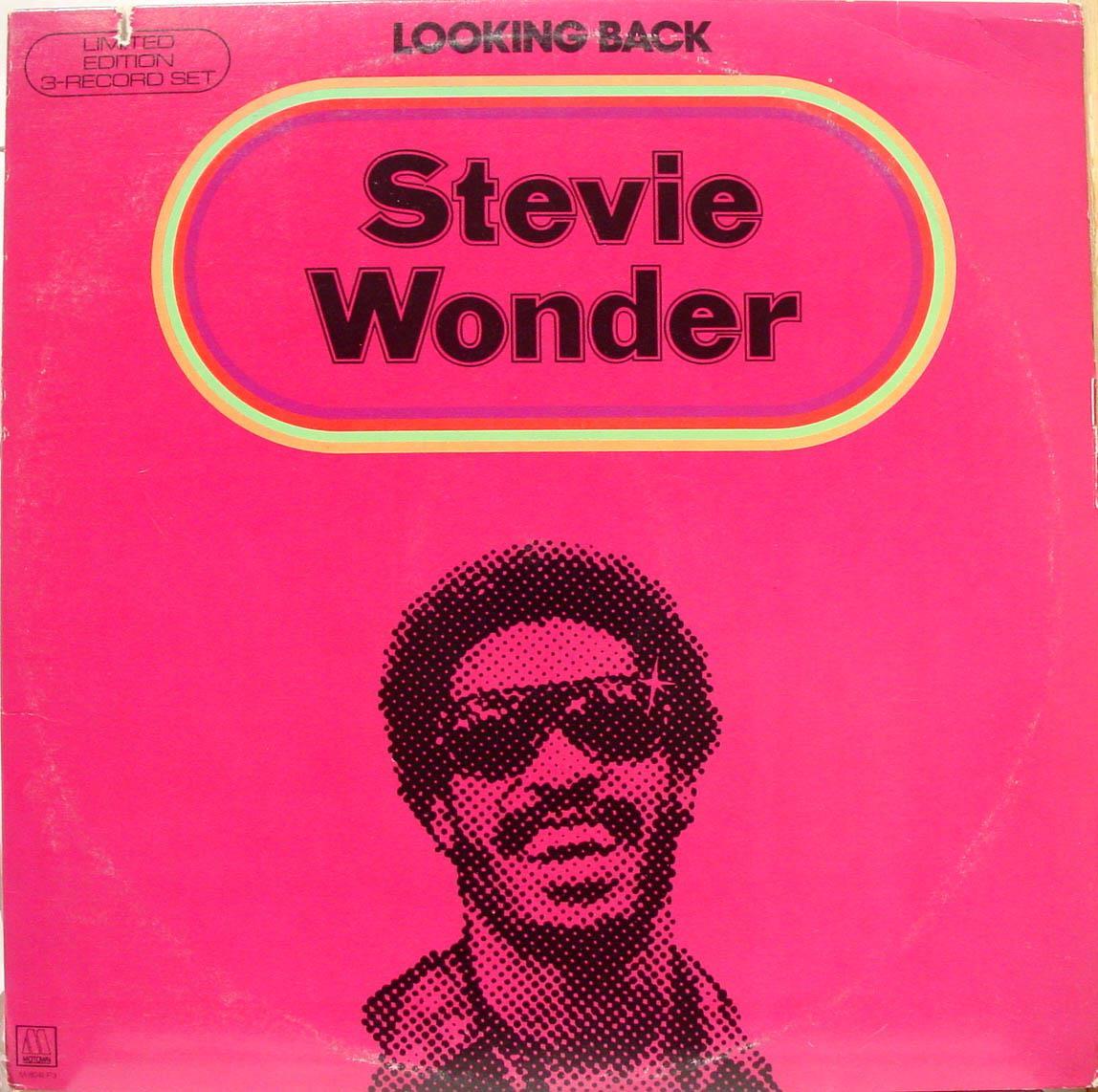 Stevie Wonder Looking Back 3 Lp Vg M 804lp3 Motown Usa