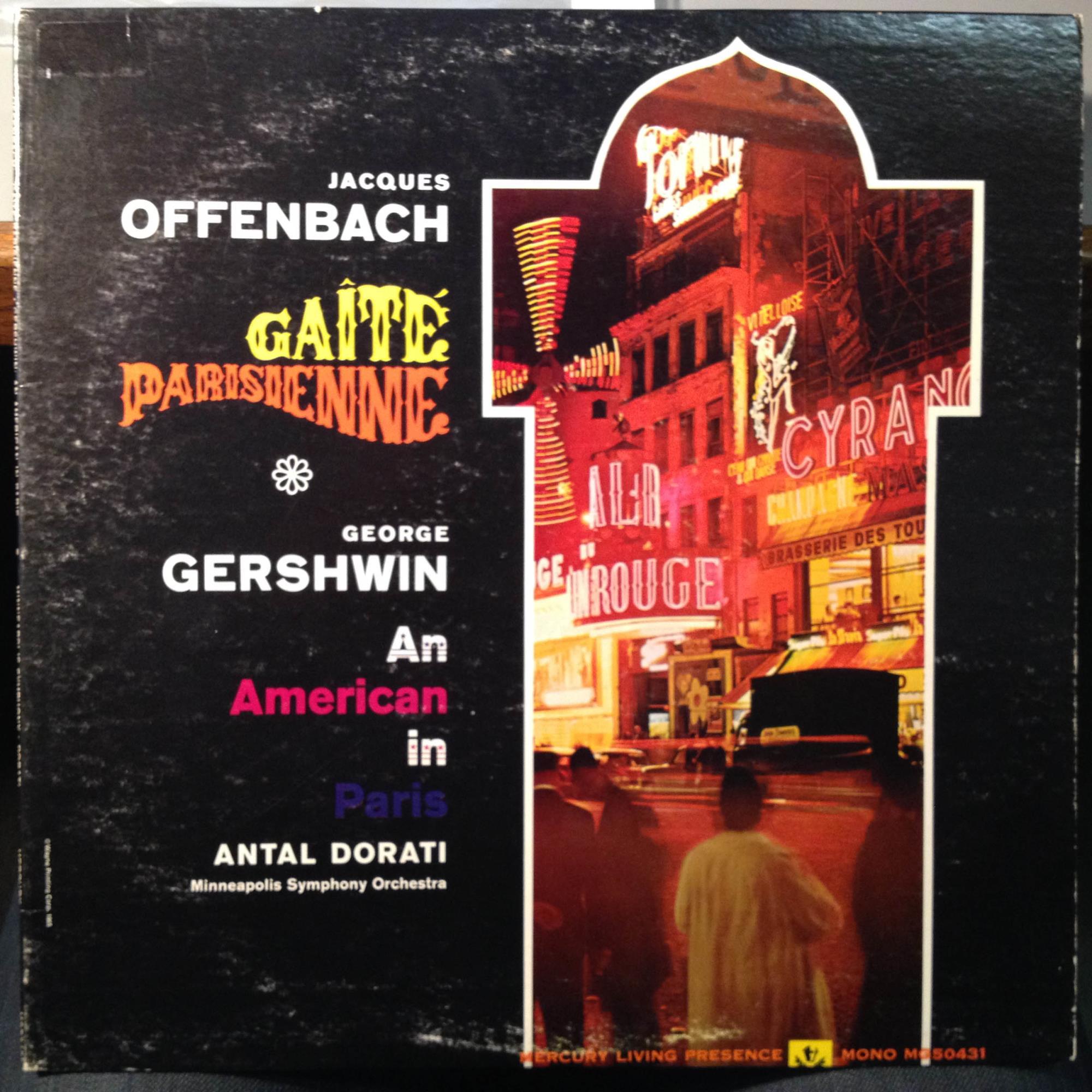 Antal dorati offenbach gaite parisienne lp vg promo mg for Hs offenbach