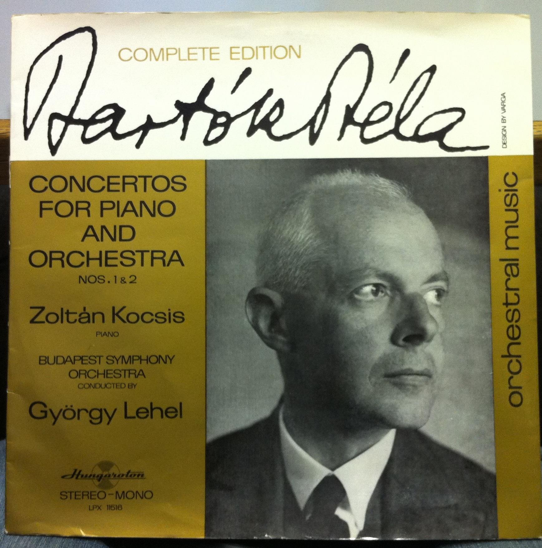 Zoltan Kocsis Bartok Concerto For Piano Amp Orhcestra Lp