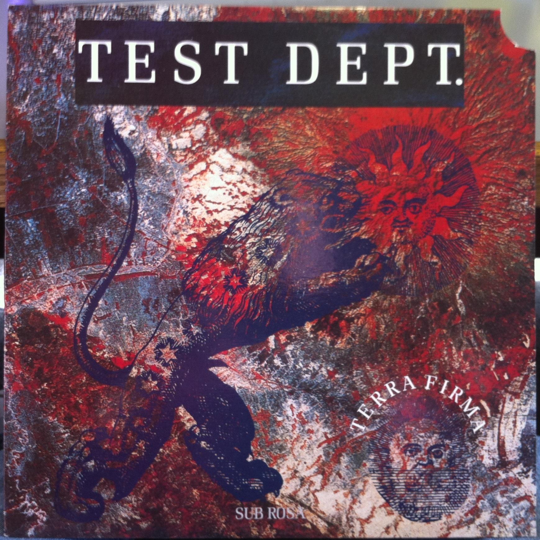 Test Dept Sub Rosa Terra Firma Lp Mint
