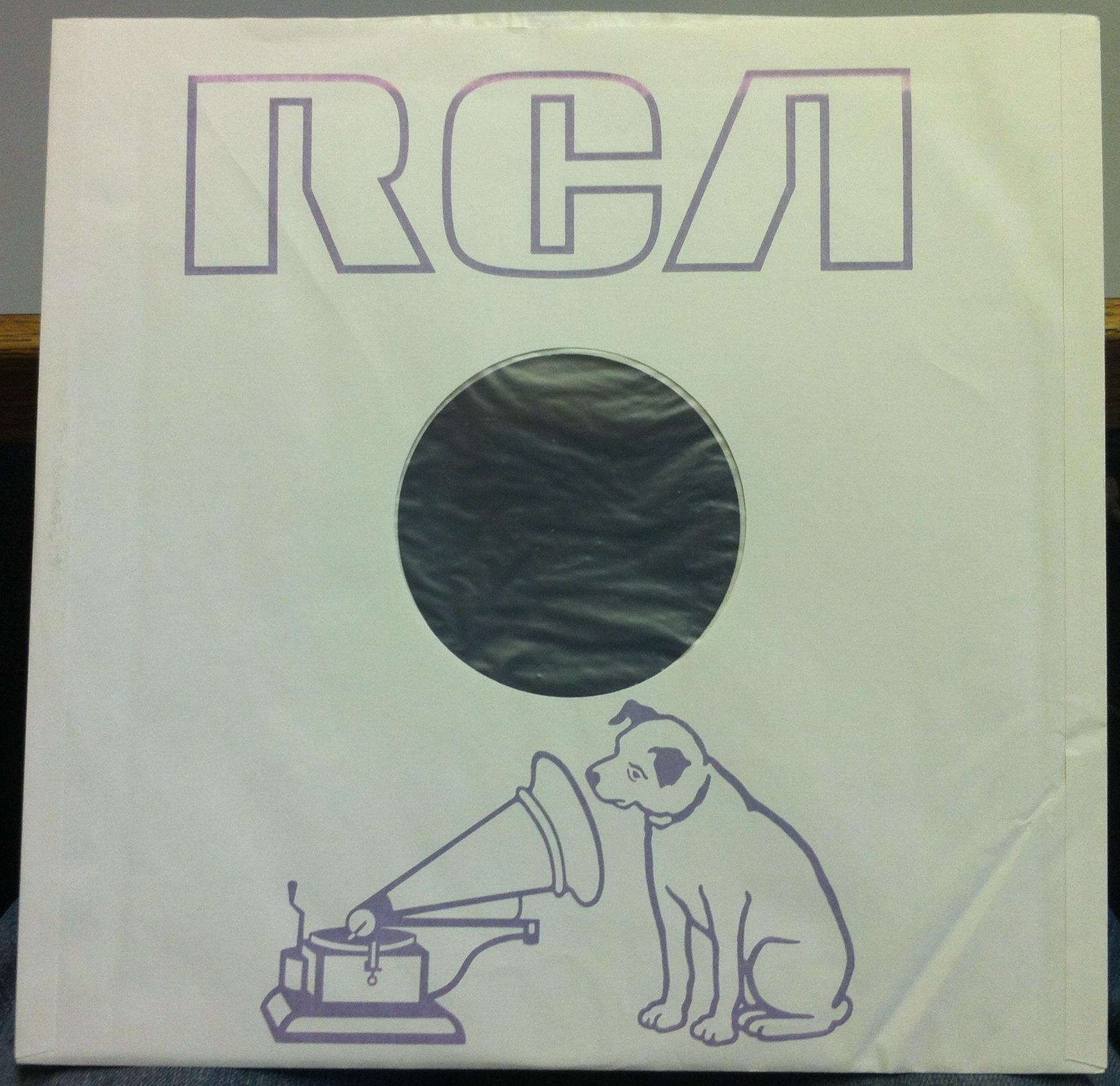 RCA VICTOR RECORDS USA - Audiophile Lined INNER SLEEVE - LP