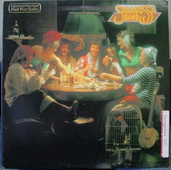 SARAGOSSA BAND - Saragossa Band S/t Lp Vg+ Sw 50069 Vinyl 1979 Record (s/t)