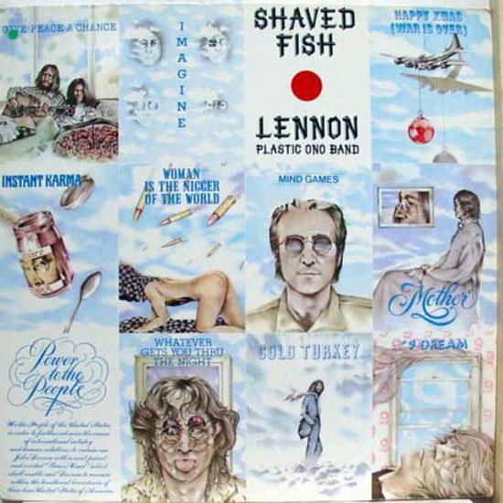 John lennon the plastic ono band shaved fish lp vg 1 c for John lennon shaved fish