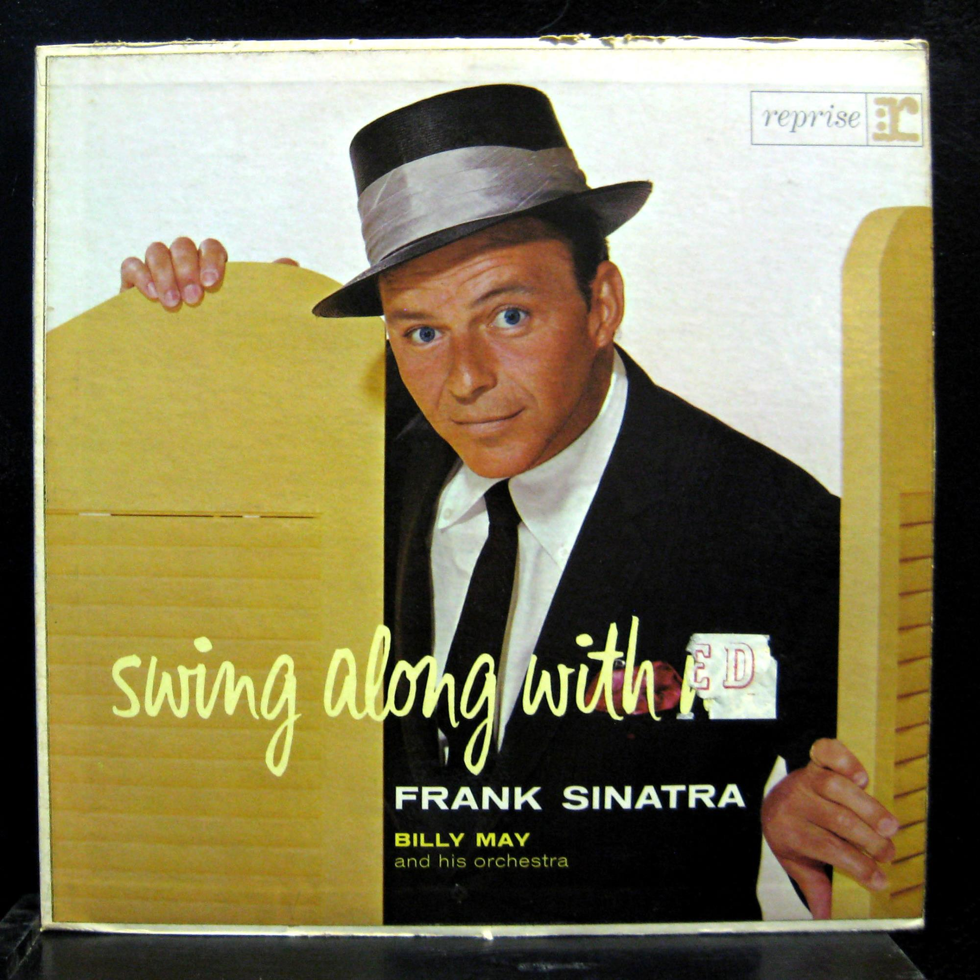Frank Sinatra Swing Along With Me Lp Vg R9 1002 1st