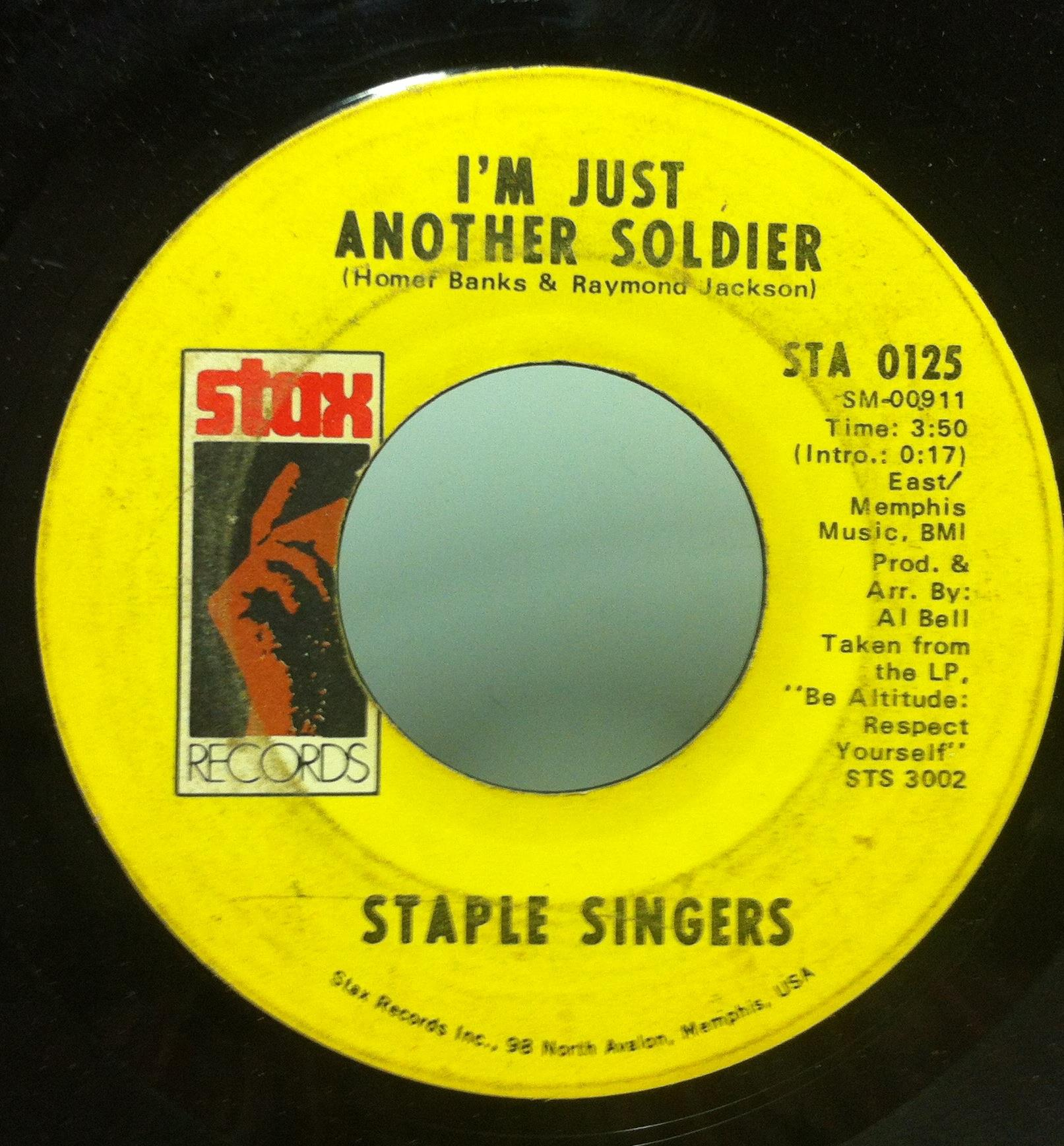 45 Staple Singers I'll Take You There