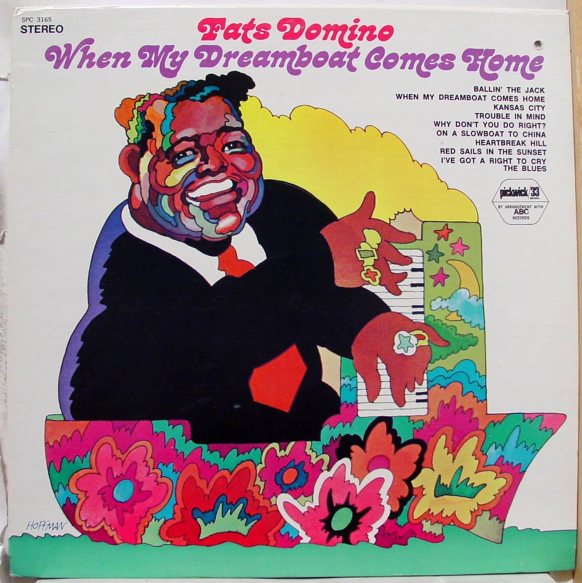 FATS DOMINO - Fats Domino When My Dreamboat Comes Home Lp Mint- Spc 3165 Vinyl Record (when My Dreamboat Comes Hom