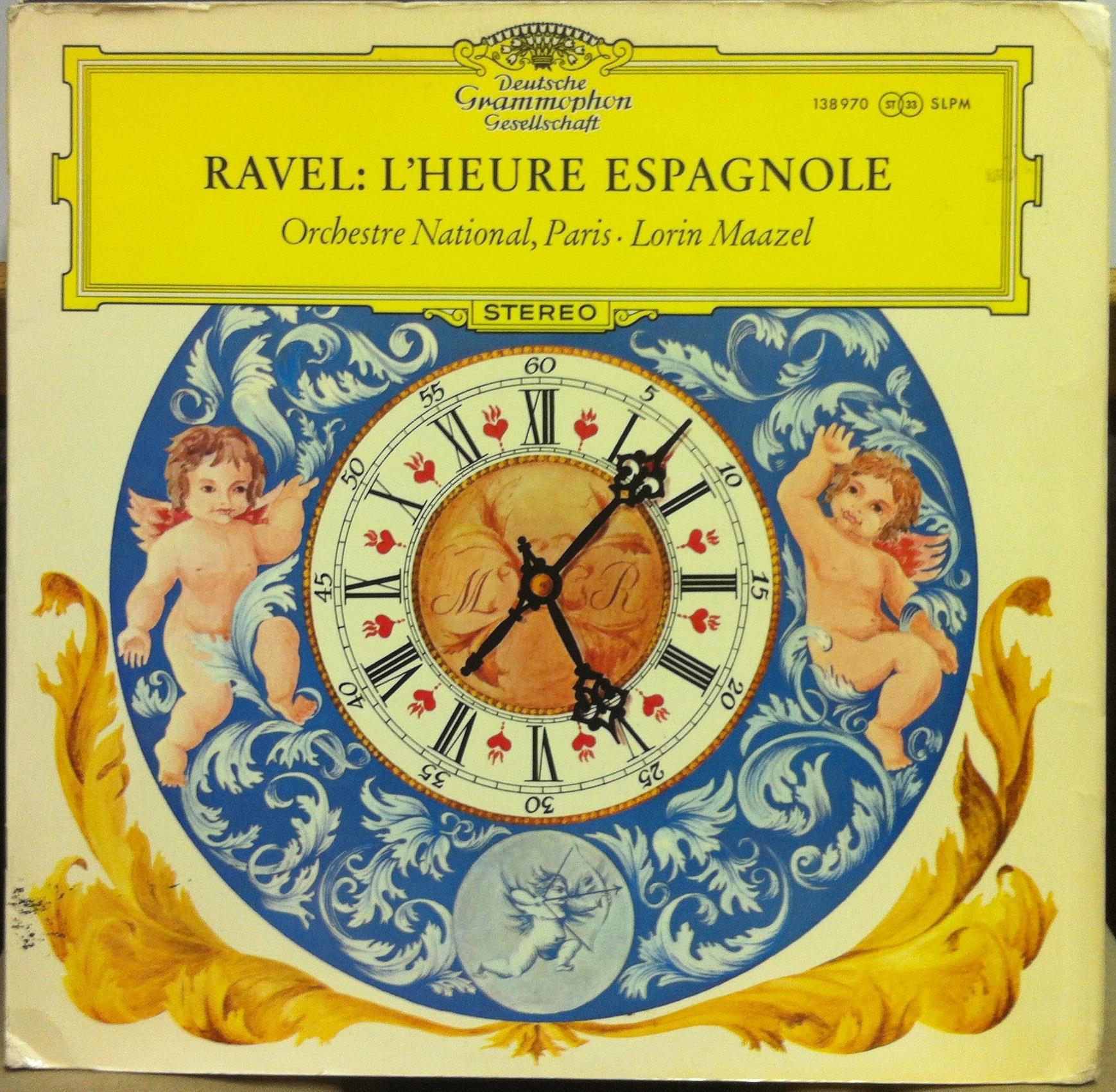 LORIN MAAZEL - Ravel L'heure Espagnole