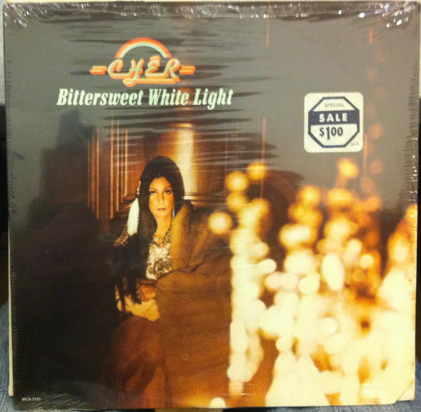 Cher Bittersweet White Light Lp Sealed Mca 2101 Vinyl 1973 Record