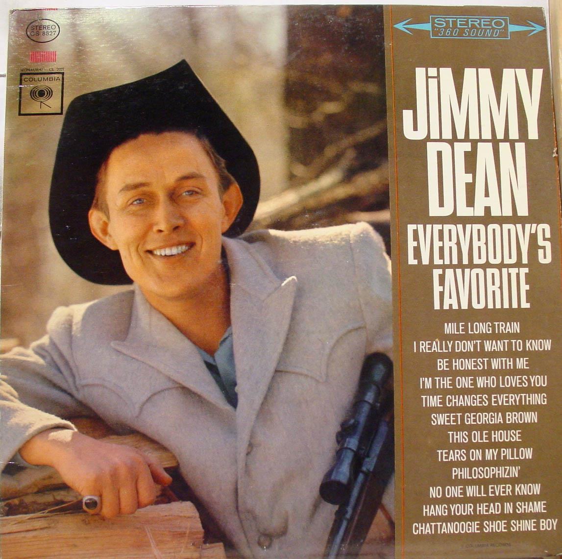 Jimmy Dean Everybody S Favorite Lp Vg 360 1a 1k Cs 8827