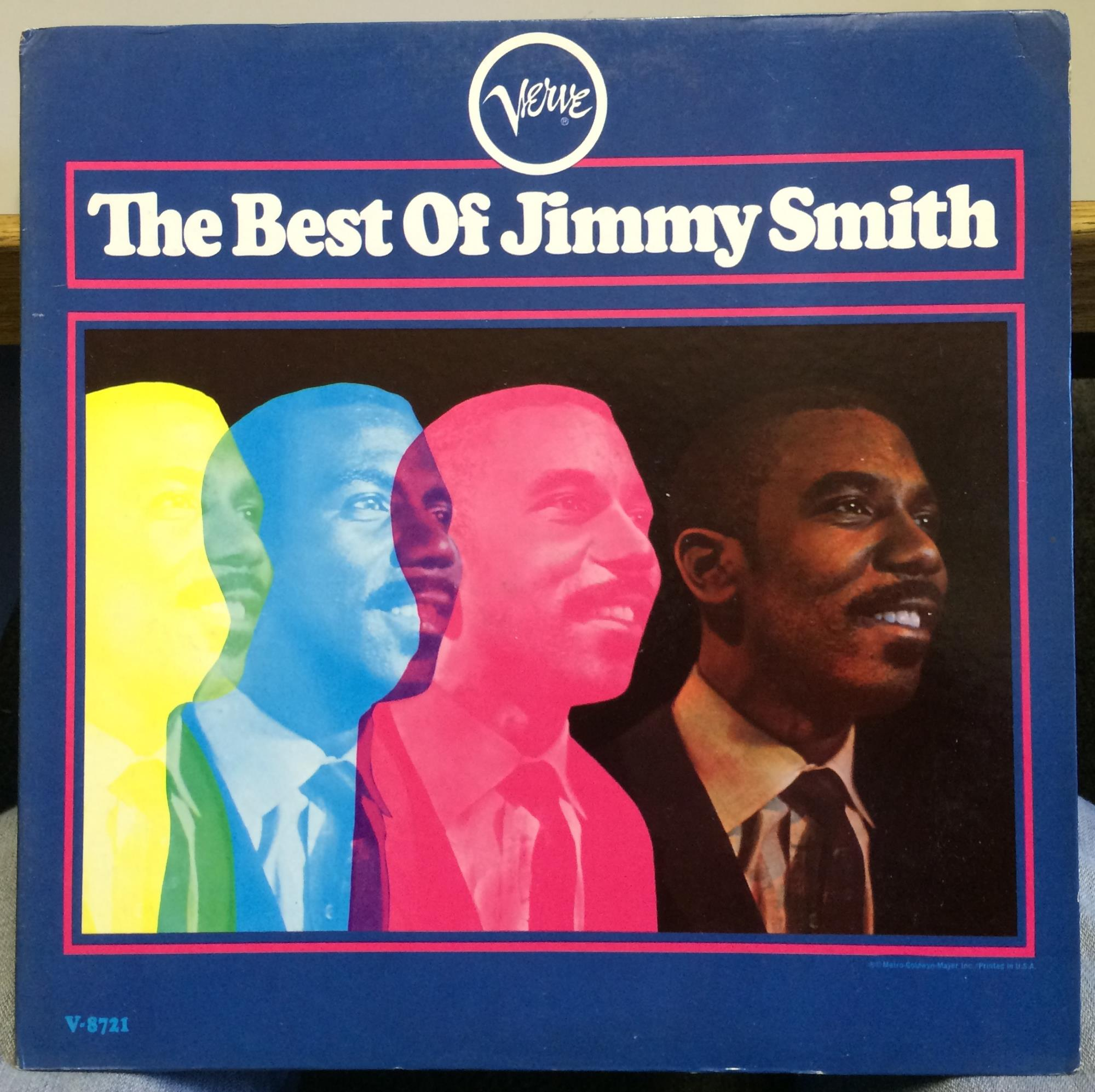 Jimmy Smith The Best Of Lp Vg Label Promo V 8721 Mono