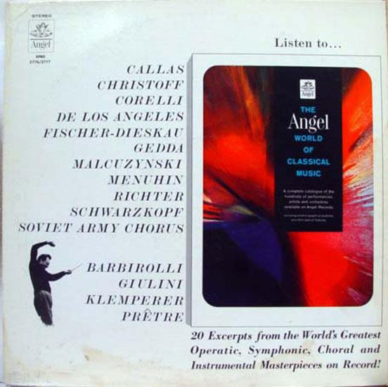 ANGEL WORLD - Angel World Of Classical Music Lp Vg+ Spro 2776 2777 Vinyl Record (of Classical Music)
