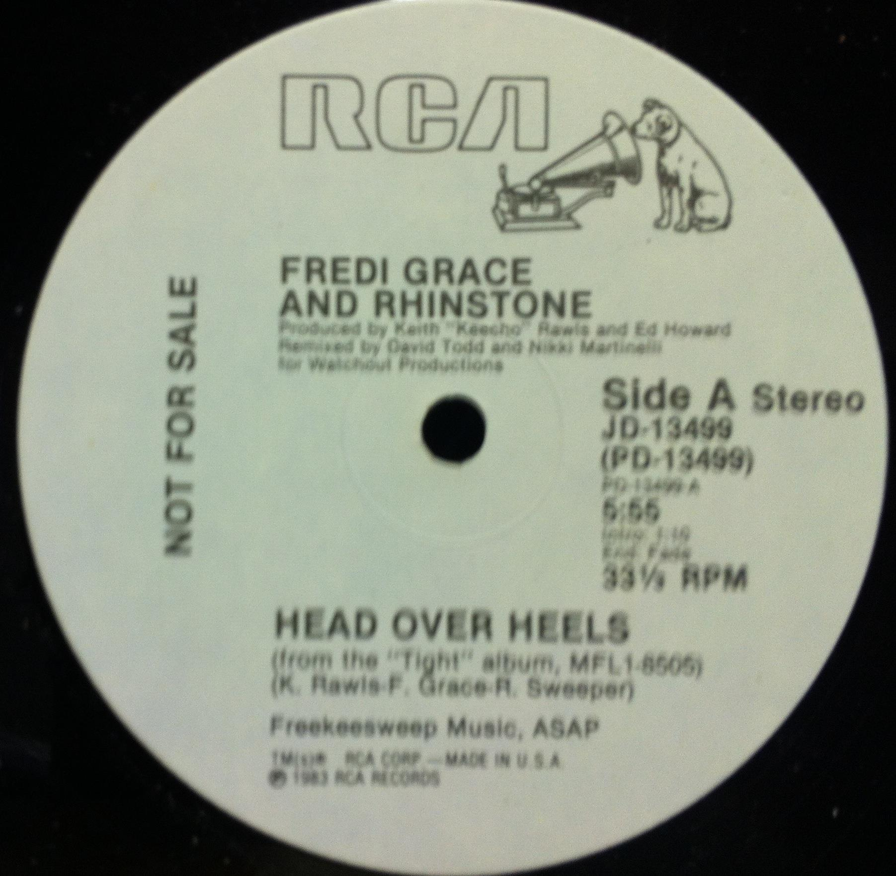 Fredi Grace And Rhinstone - Get On Your Mark