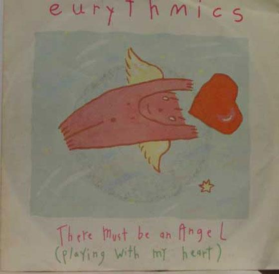 "EURYTHMICS - Eurythmics There Must Be An Angel / Grown Up Girls 7"" Vg Rca Pb 40247 Vinyl (there Must Be An A"