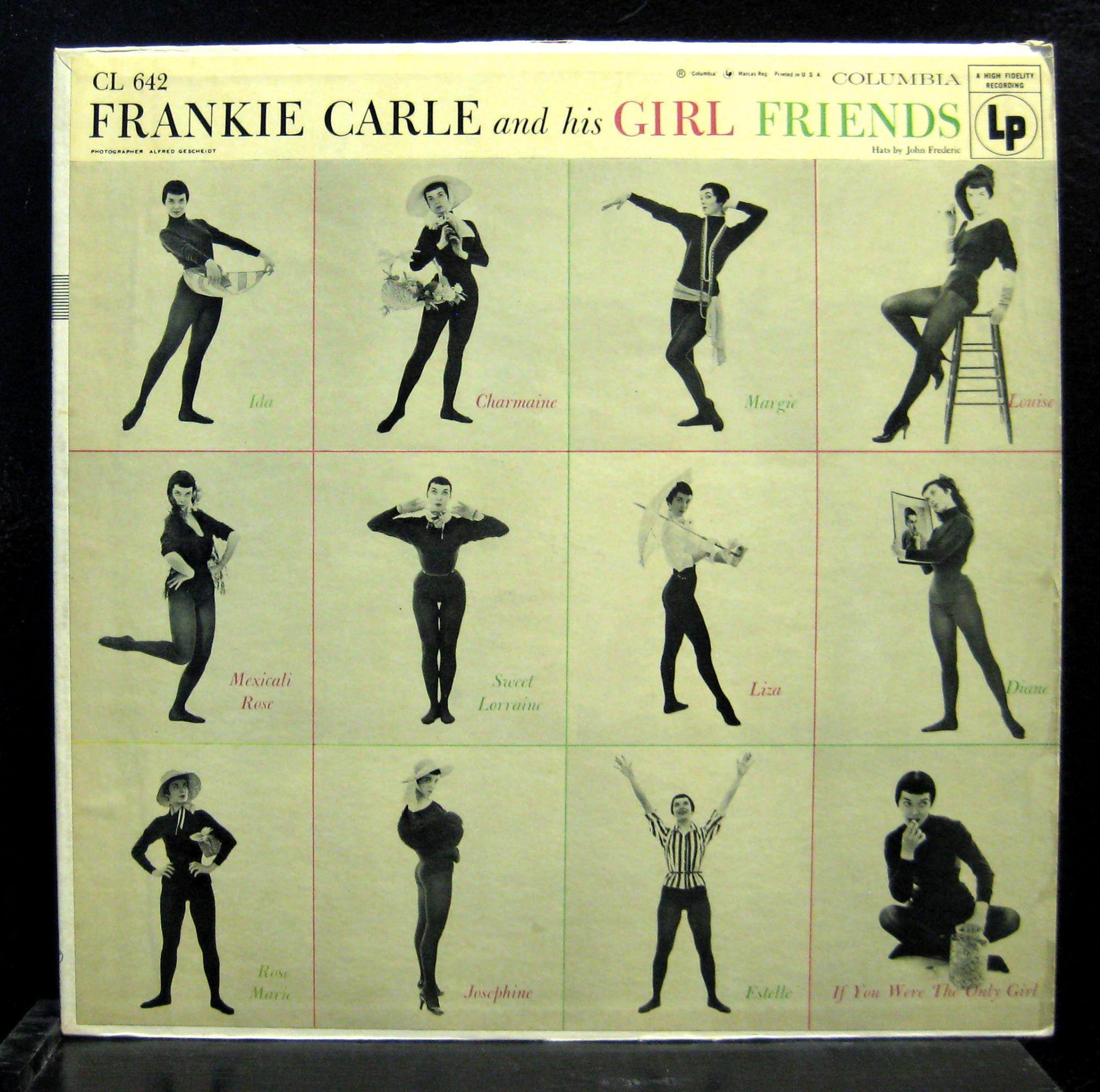 FRANKIE CARLE - & HIS GIRL FRIENDS - 33T
