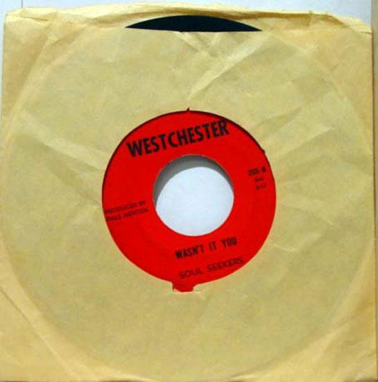 "SOUL SEEKERS - Soul Seekers Boom, Boom / Wasn't It You 7"" Vg- Westchester 266 Vinyl Record (boom, Boom / Wasn'"
