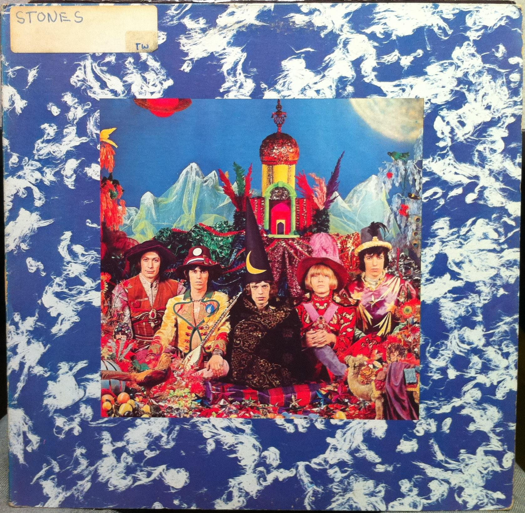 Rolling Stones - The Rolling Stones Their Satanic Majesties Request Lp Vg Nps-2 Stereo Vinyl 1967 (their Satanic Maje