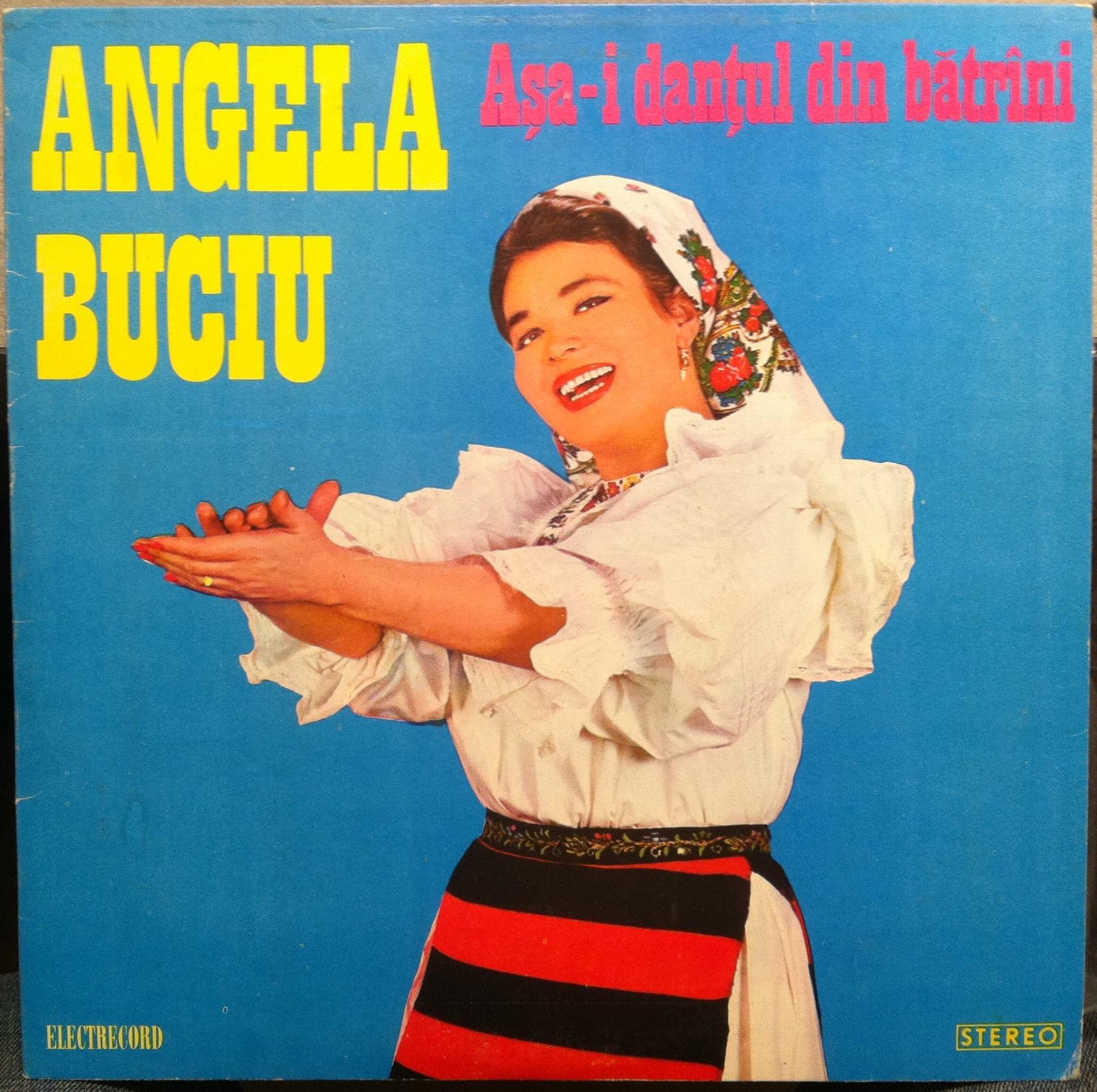 ANGELA BUCIU - Angela Buciu Asa -i Dantul Din Batrini Lp Vg+ St Epe 01740 Vinyl Record (asa -i Dantul Din Batrini)