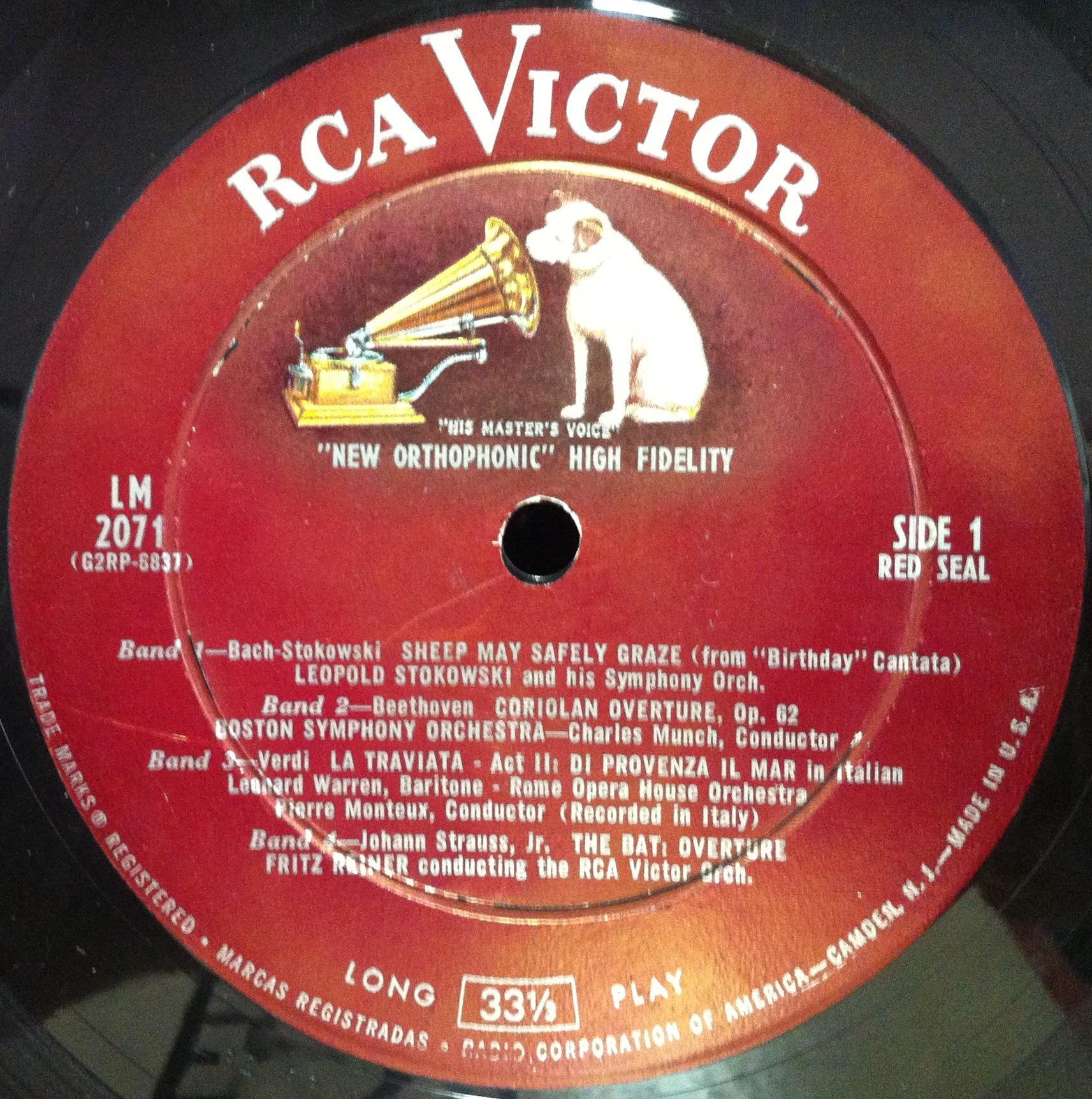 Various - RCA Disco Sampler Volume I
