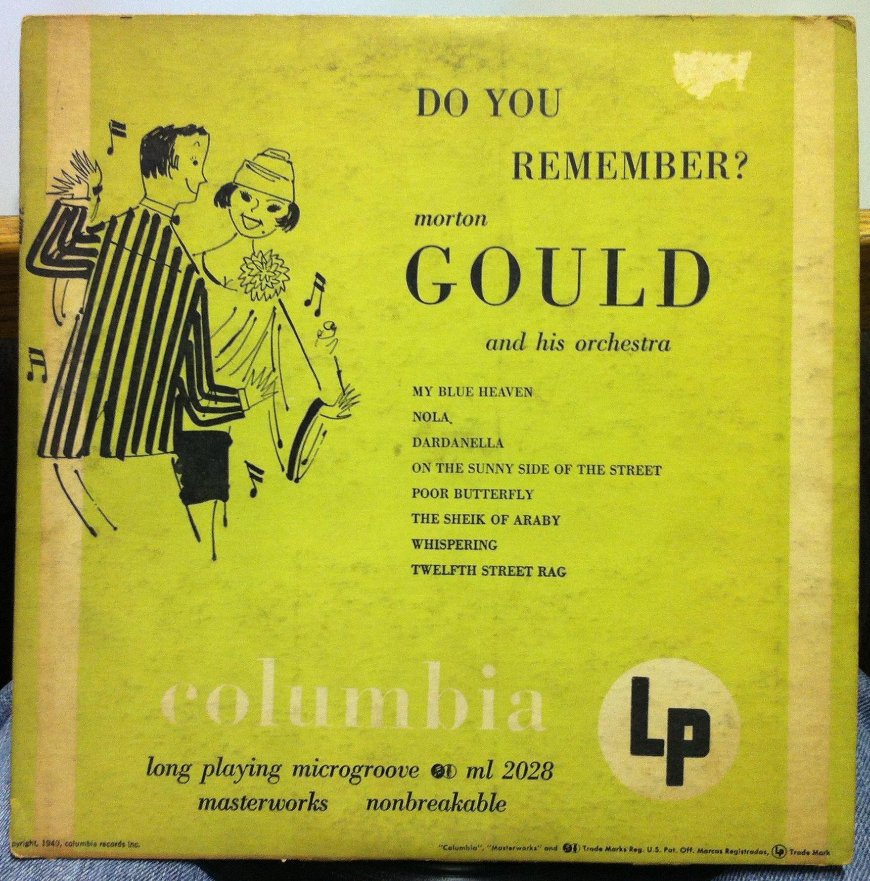 Morton Gould Morton Gould Records Lps Vinyl And Cds
