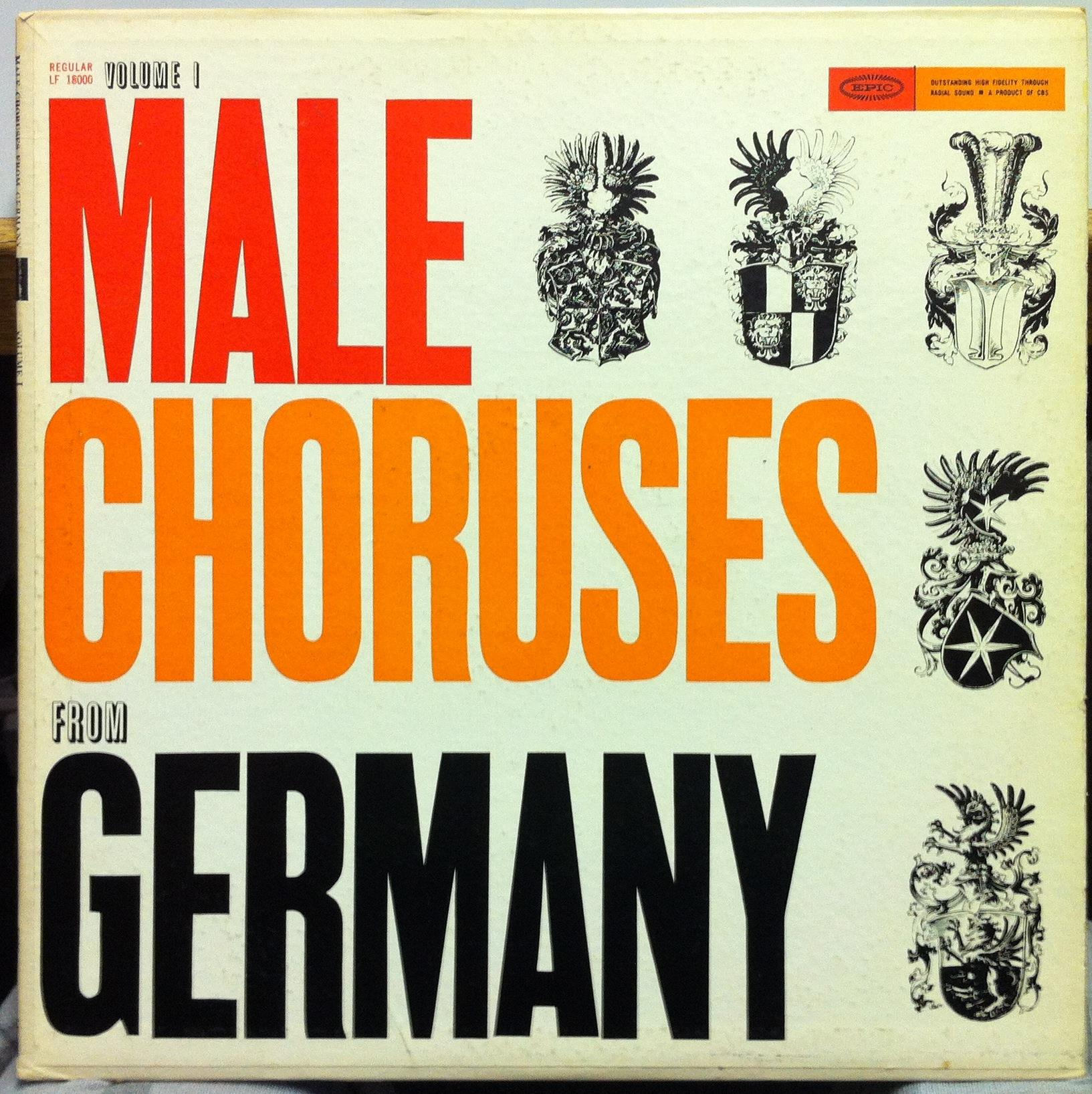 Male Choruses From Germany
