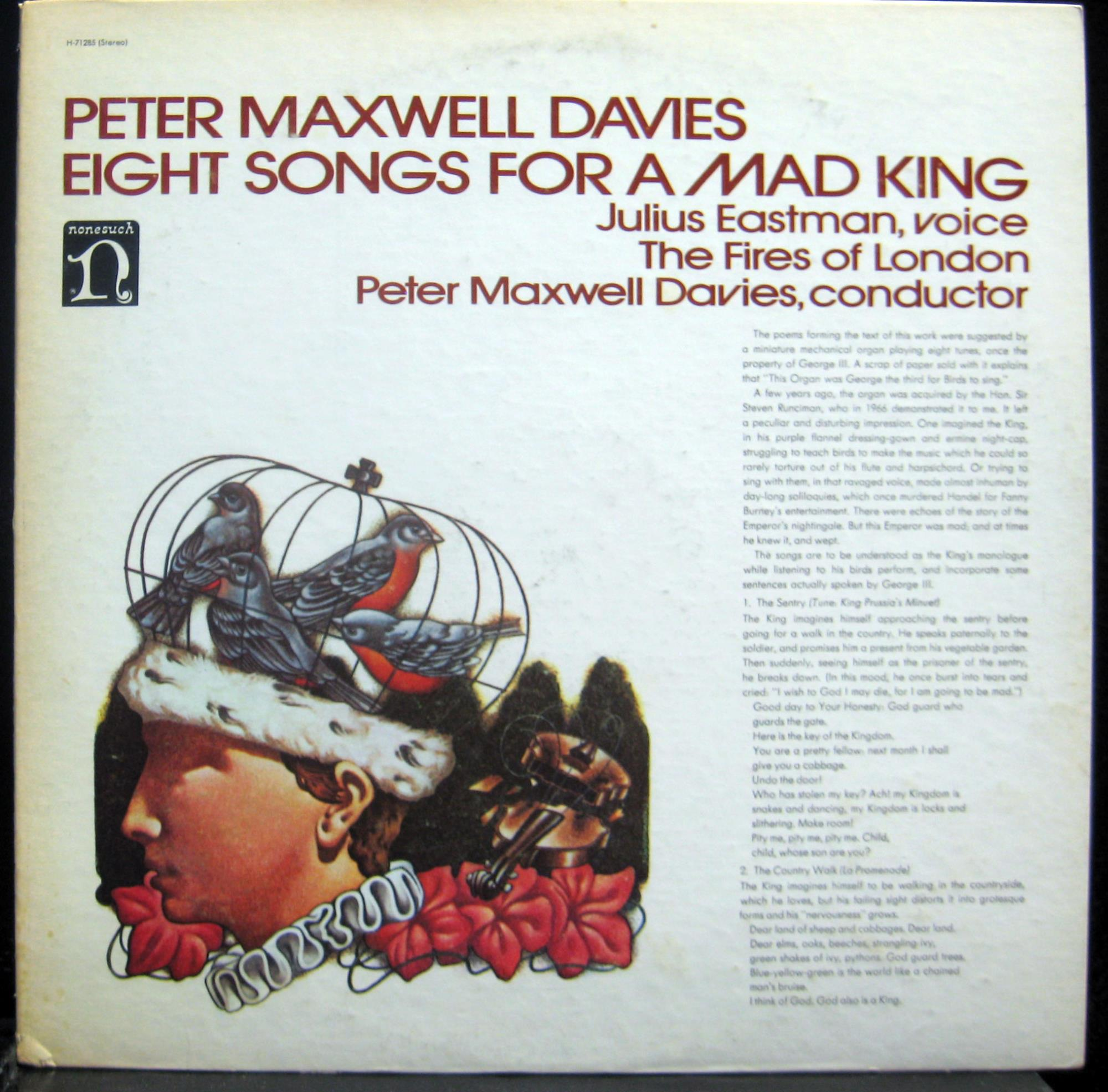 Eight Songs For A Mad King