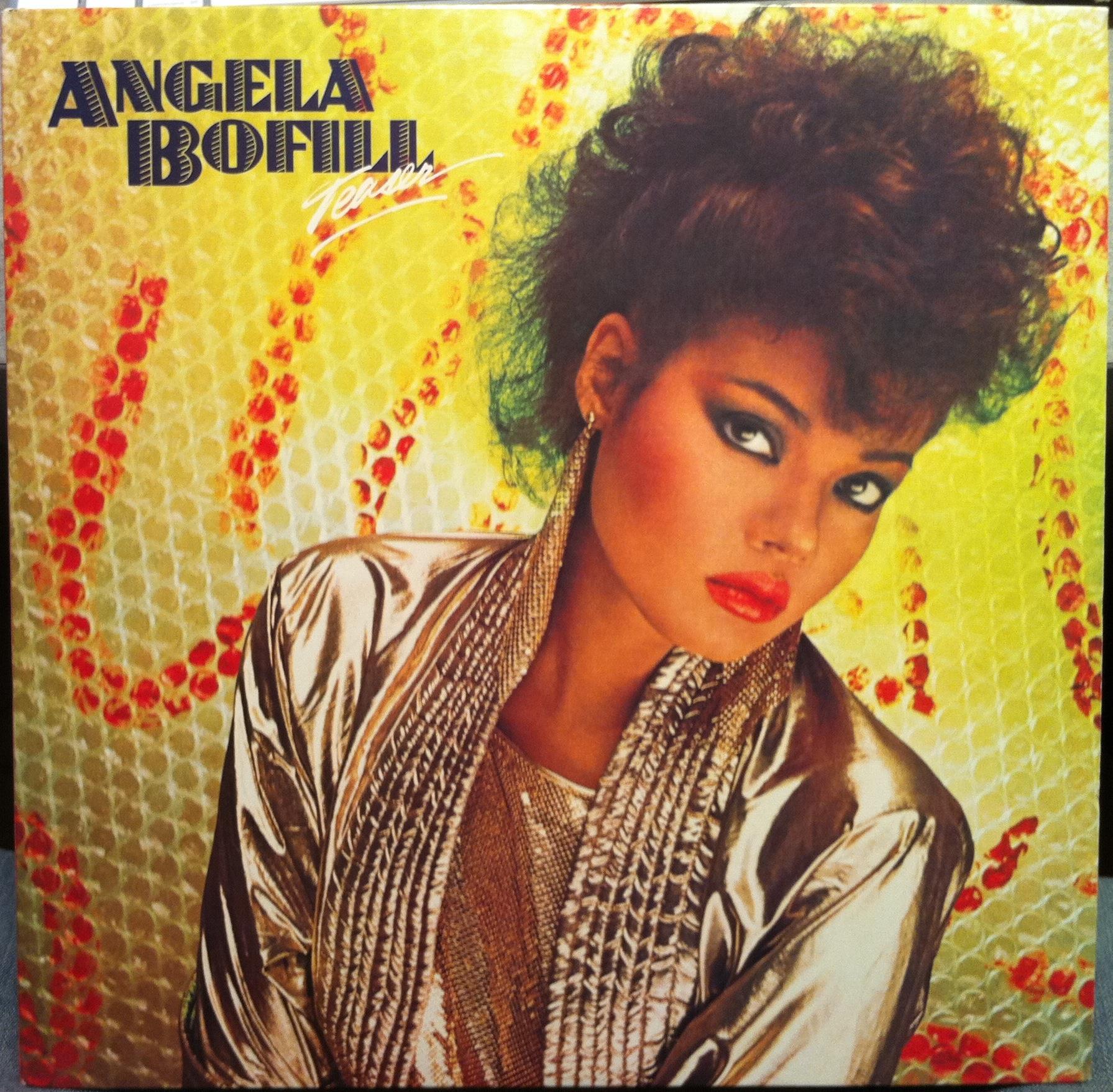 ANGELA BOFILL - Angela Bofill Teaser Lp Mint- Al 8 8198 Vinyl 1983 Record (teaser)