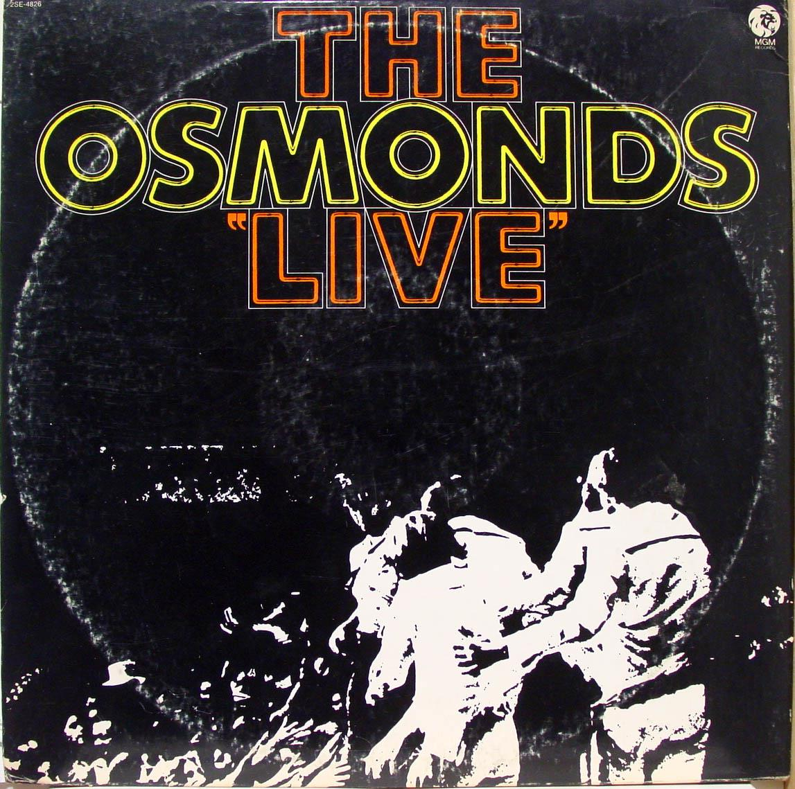 OSMONDS - The Osmonds Live Lp Vg+ 2se 4826 Vinyl Record (live)